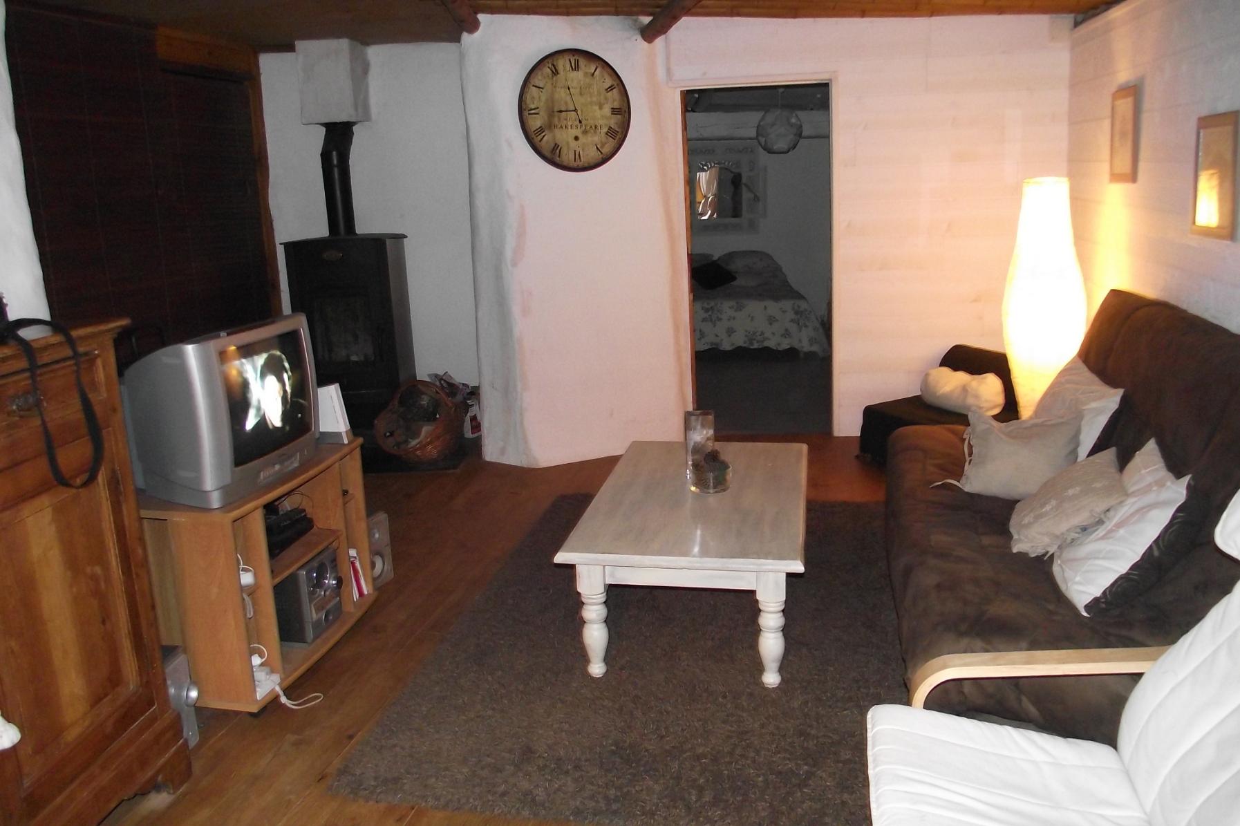 Inteirur maison La cloison magnifique le coin salon